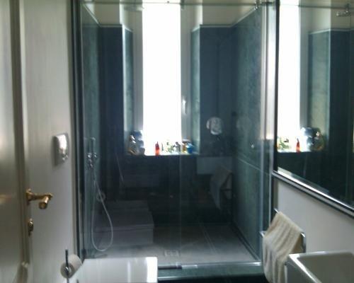 Porte per doccia in cristallo