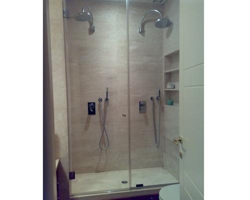 Chiusura in cristallo per doccia