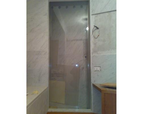 Porta in cristallo per cabina doccia