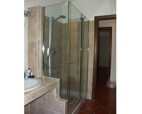 Chiusura in cristallo cabina doccia