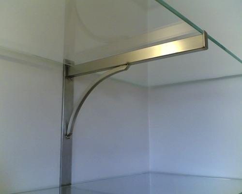Pianale in vetro cirstallo