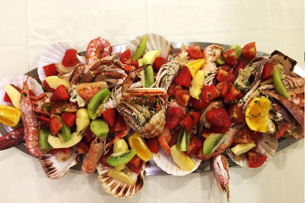 Crostacei, Frutta e Verdura