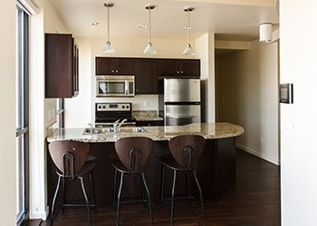 furnished kitchen college rentals