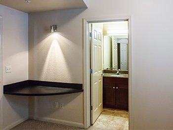 individual bathrooms