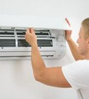 sparkrite electrical men fixing ac