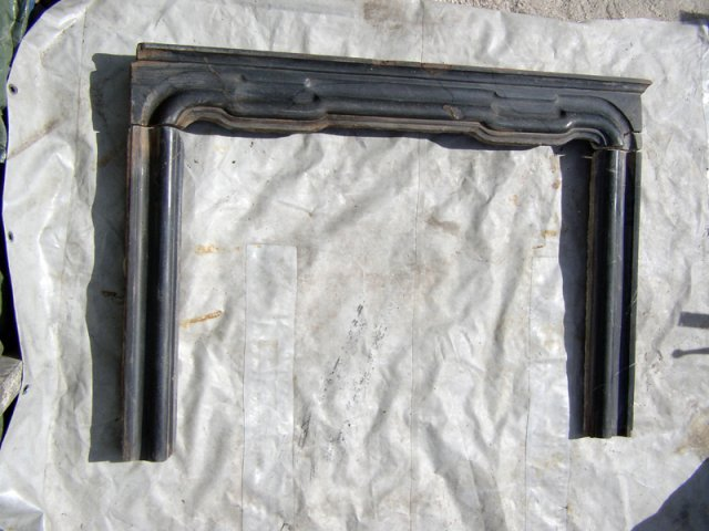una struttura in ferro