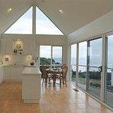 kitchen triangle window
