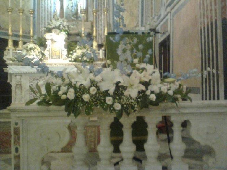 Addobbi chiese La Spezia
