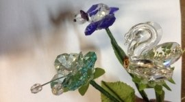cristalli, vasi, ceramiche, swaroski Fiorista La Spezia