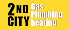 2nd City Gas, Plumbing & Heating logo