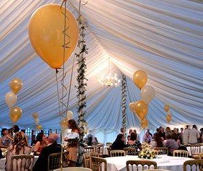 Tent decorations