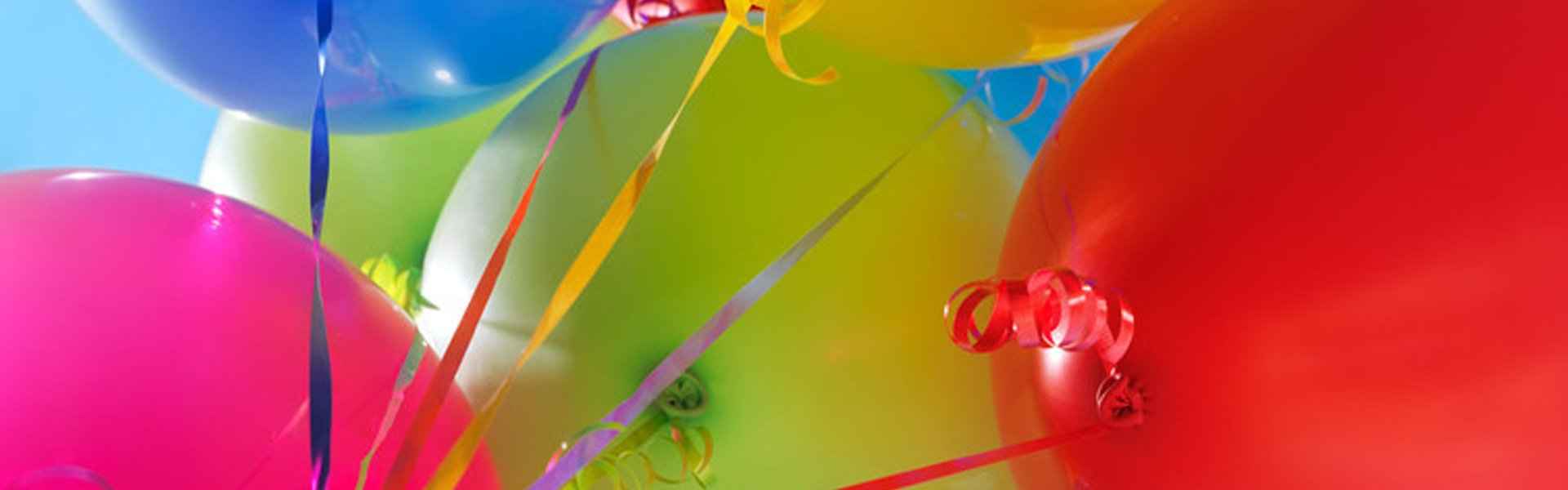 unrivalled range of balloons