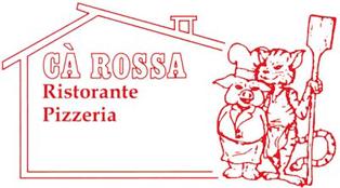 RISTORANTE PIZZERIA CÀ ROSSA -LOGO