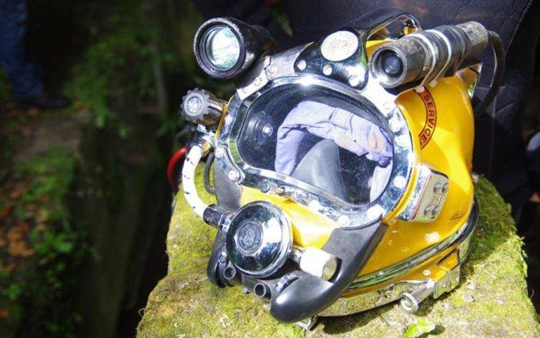 caschi per immersione, casco palombaro, Kirby Morgan, casco Kirby Morgan,