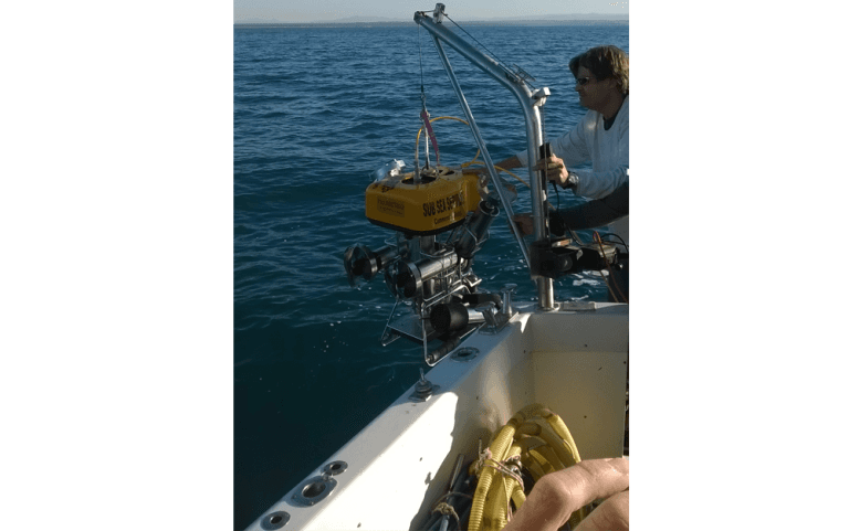 ROV Service, Prometheus underwater works, inspection and maintenance of underwater infrastructure, non-destructive diver checks, underwater archaeological diagnostics, ROV Service