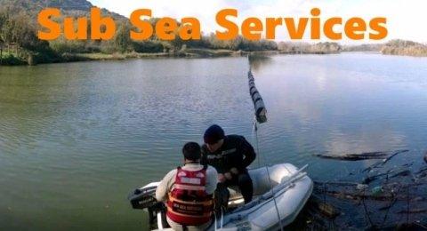 Installazione barriera galleggiante, civitavecchia, roma