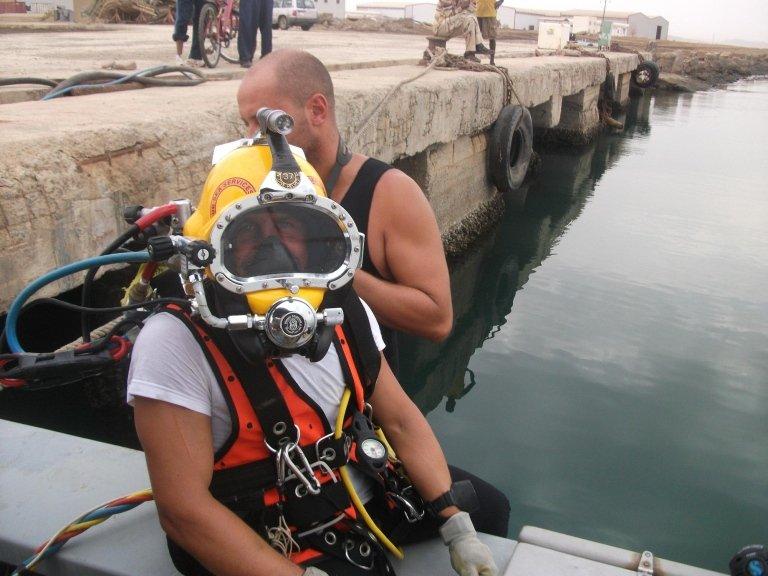Eritrea Commercial Diving