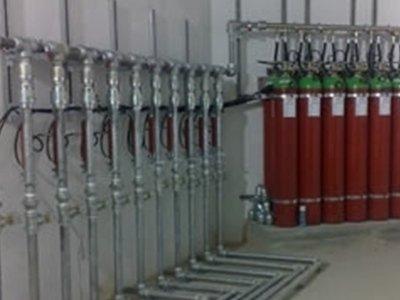 Stabilimento industriale antincendio