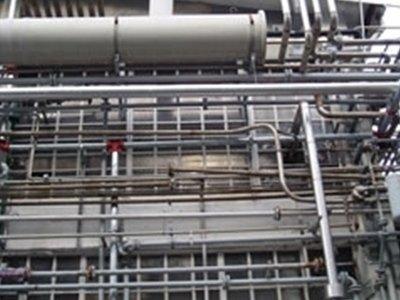 Parte della rete idrante