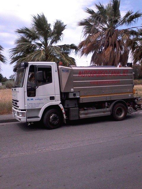 camion autospurgo