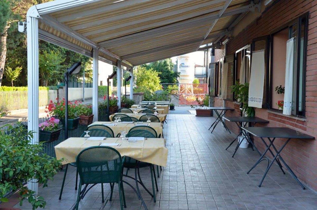 Terrazza dil ristorante