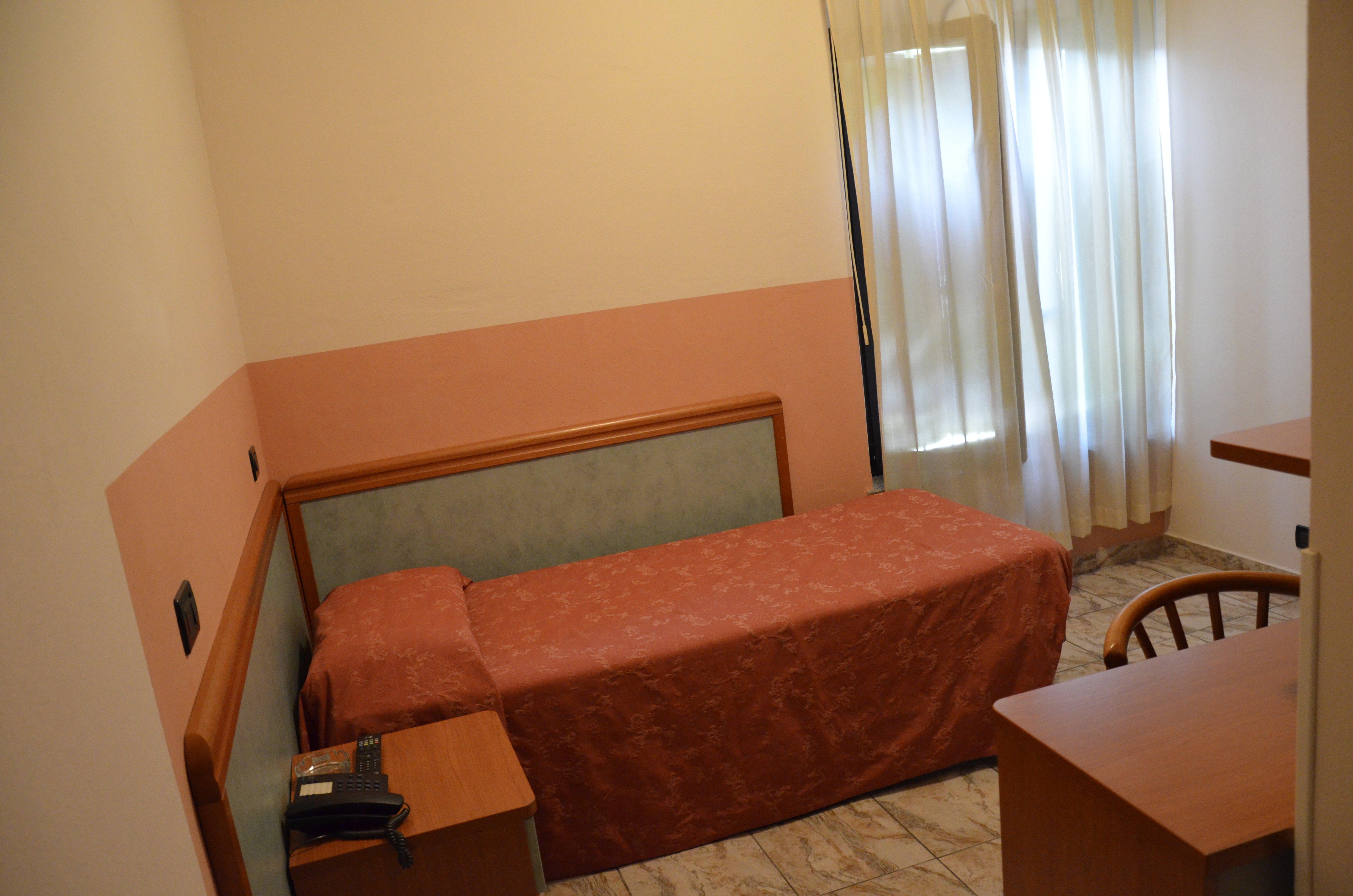 interno di una camera d'albergo