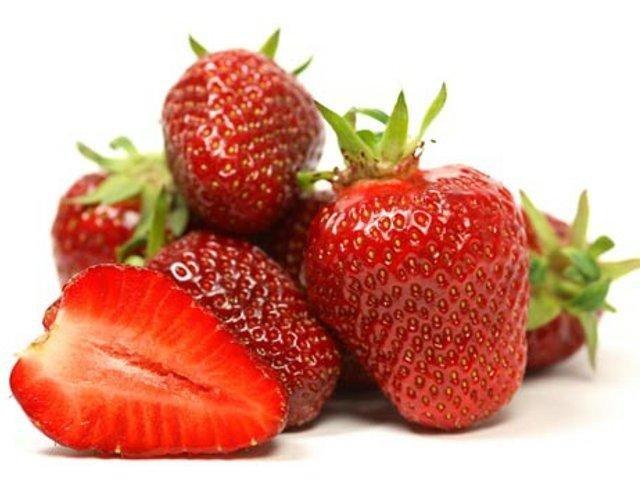 greengrocer's Fapanni strawberries