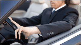 conducente auto lusso