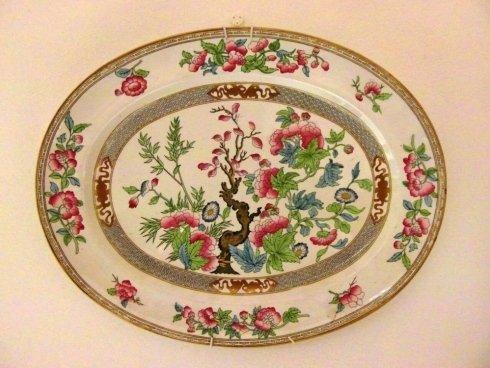 Decorativo piatto ovale