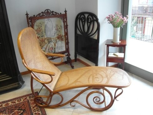 Elegante chaise longue
