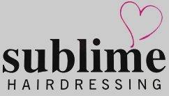 sublime HAIRDRESSING logo