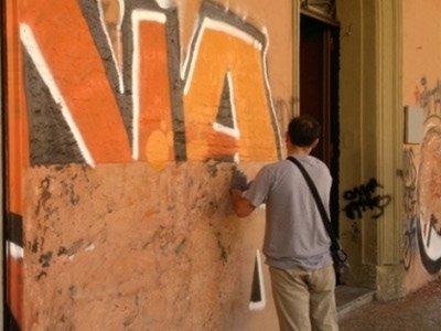 tinteggiatura antigraffiti