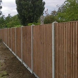 vertical slab fencing