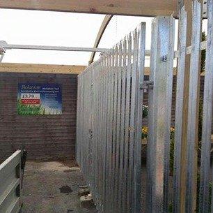 shutter fencing