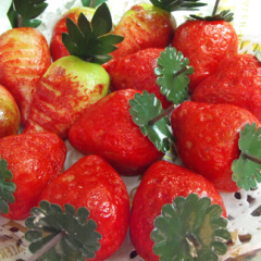 pasticerria a forma di fragole