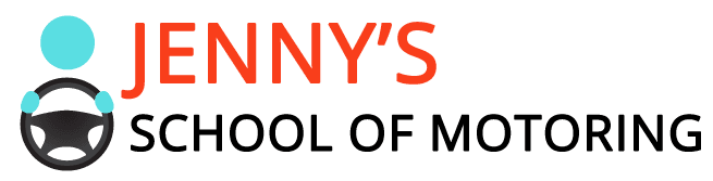 Jenny's school of motoring logo