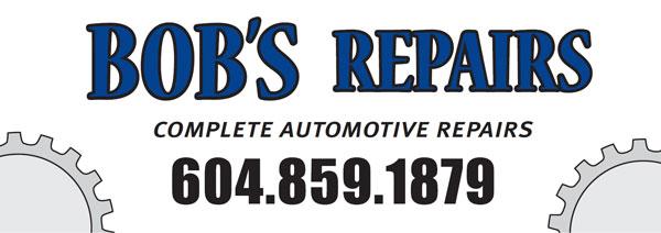 Bob's Repairs logo