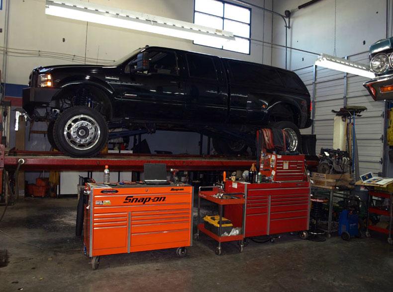 black car repair