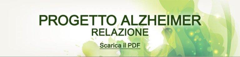 Progetto Alzheimer - Scarica il PDF