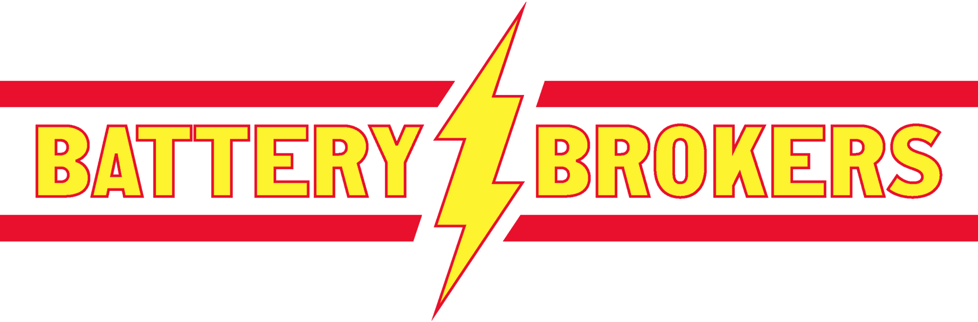 battery brokers logo yellow