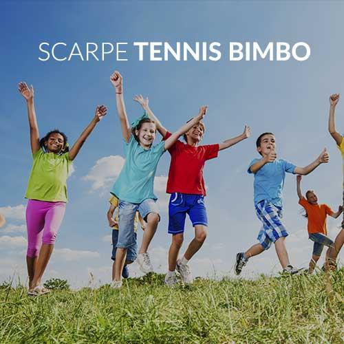 scarpe tennis bimbo