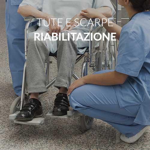 abbigliamento e calzature riabilitazione