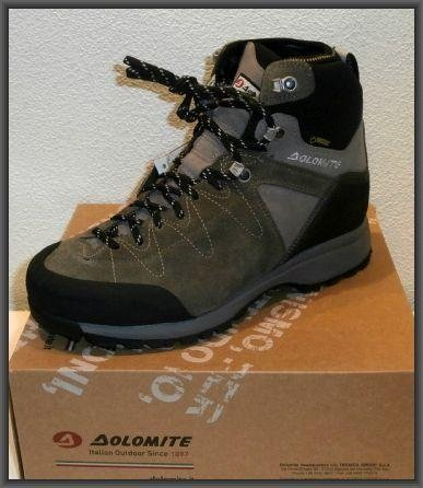 Dolomite in goretex f.do vibram
