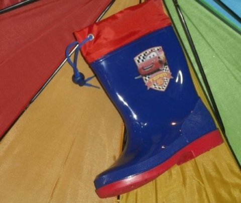 cars wellies