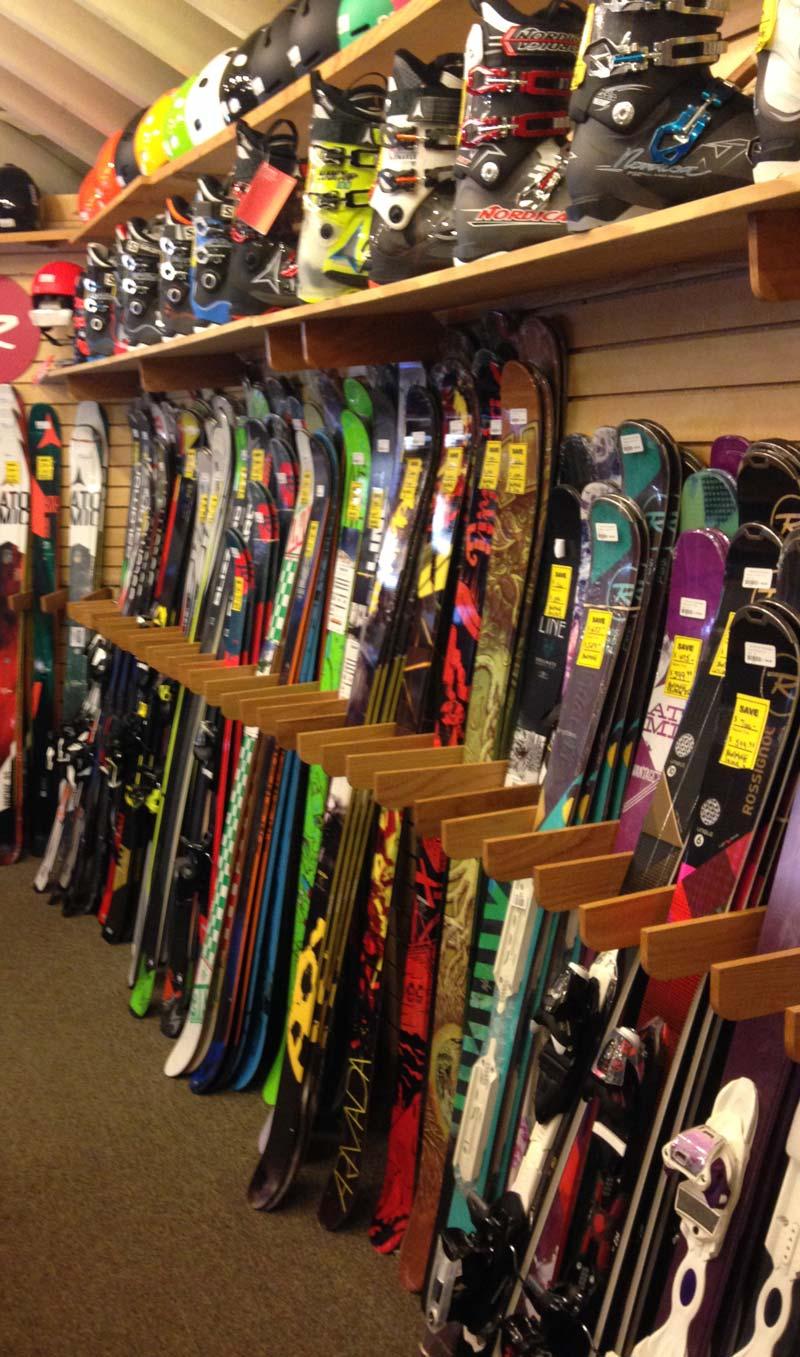 ski stores