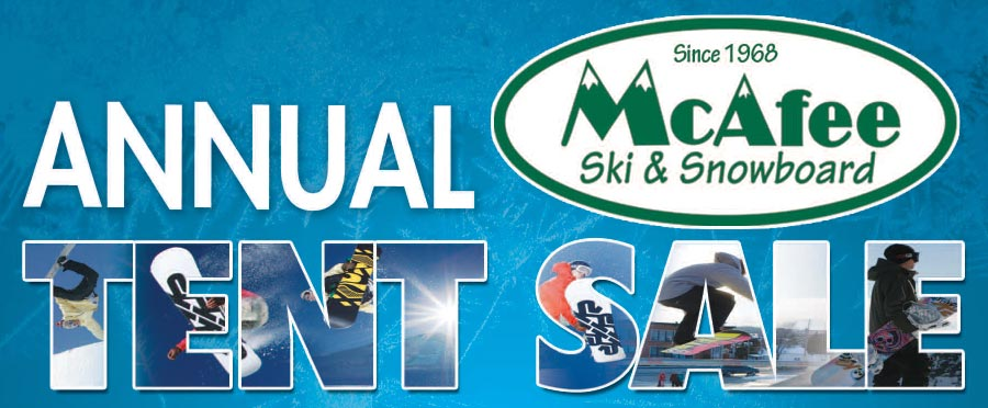 McAfee Ski Annual Tent Sale