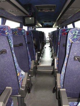 Coach hire services - Cheshire - Ark Coachline Ltd  - Coach hire services