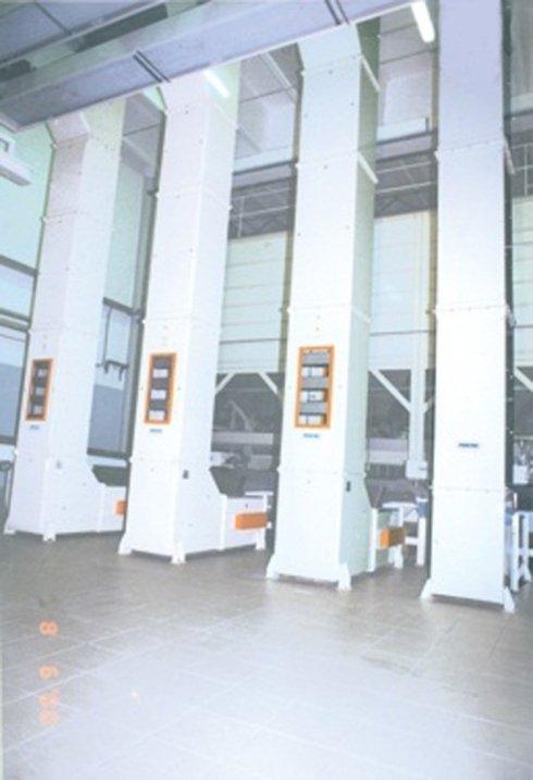 Elevatori a tazze per pasta corta