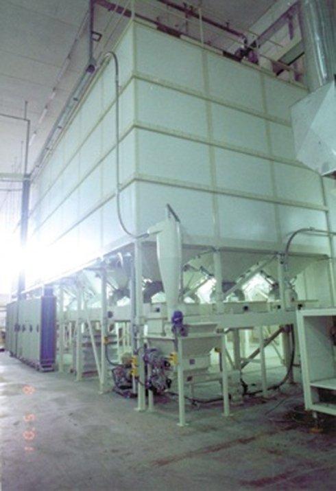 Gruppo silos pasta corta