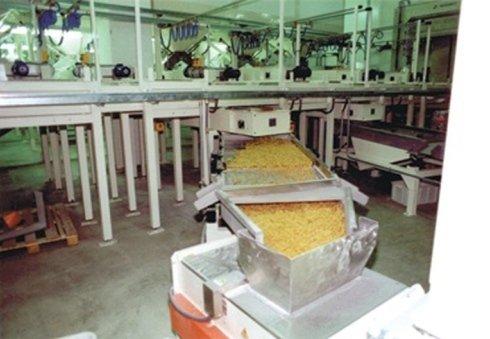 Nastri di carico silos pasta corta
